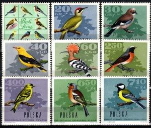 Poland #1452-1460  MNH CV $6.05  (X1003)