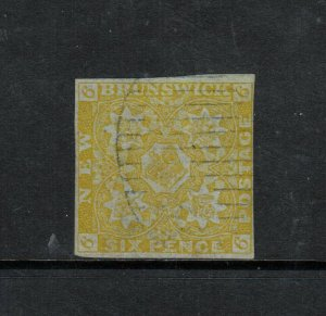 New Brunswick #2 Used Fine **With Certificate**