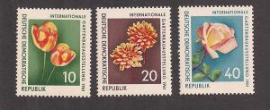 GERMANY - DDR SC# 565-7 VF LH 1961