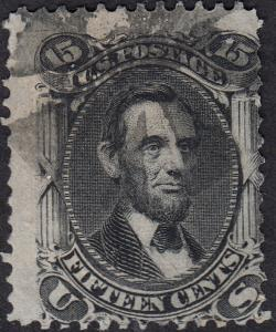 U.S. 98 Used F Very Thin Paper (121518)