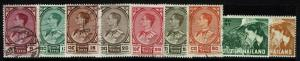 Thailand 9 1962 Used and Mint Stamps, few faults - S1026