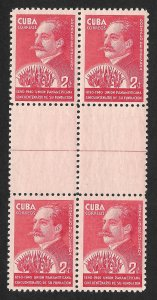 Doyle's_Stamps: April 1940 Pan American Union 50th Anniversary Gutter Block