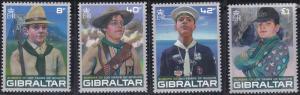 Gibraltar 1080-1083 MNH (2007)
