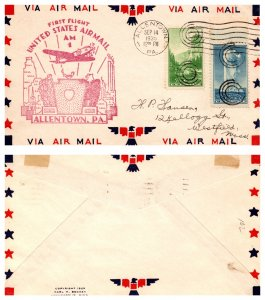 United States, Pennsylvania, First Flight