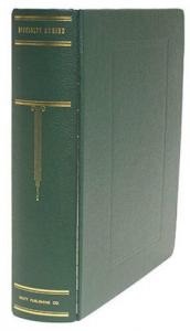 New Scott Specialty Stamp Collection 3 Green 3-Ring Binder Album & Slipcase