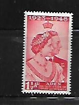 ADEN, 14, MINT HINGED, CORONATION ISSUE