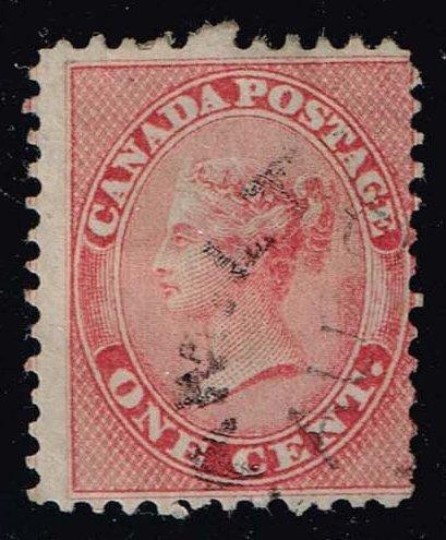 Canada #14 Queen Victoria; Used (90.00)