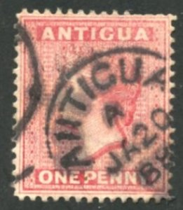 Antigua Scott 18 - UF-VFLH - SCV $4.50