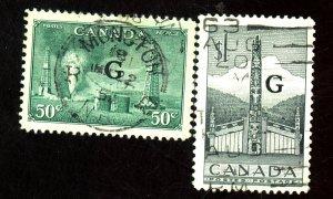 CANADA #O24 O32 USED VF Cat $ 14