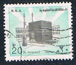 Saudi Arabia 874 Used Holy Kaaba (BP5111)