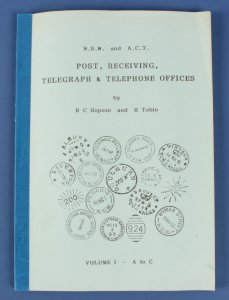AUSTRALIA - NSW & ACT Post, Receiving Telegraph & Telephone Offices.