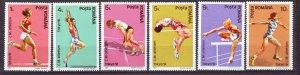 J22181 Jlstamps 1991 romania mnh #3698-3703 sports