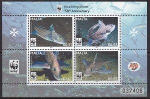 Malta, Fauna, WWF, Fishes MNH / 2011