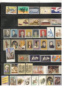 AUSTRALIA COLLECTION ON STOCK SHEET, ALL MINT, MOSTLY MNH