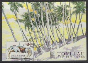 TOKELAU ISLANDS SGMS294 1999 CRABS FINE USED