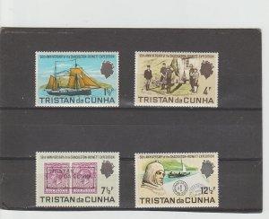 Tristan da Cunha  (Scott#  153-156  MH  (1971 Shackleton-Powell Expedition)
