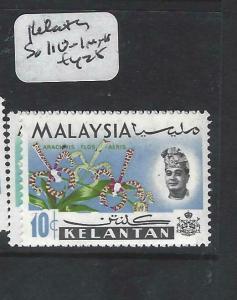 MALAYA KELANTAN   (P0906B)  ORCHIDS HARRISON SG 110-1   MNH