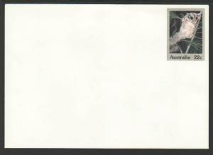 Australia Sugar Glider Unused Postal Envelope