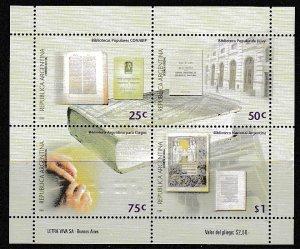 2000 Argentina Scott 2100 Libraries MNH