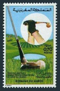 Morocco 310,hinged.Mi 761. Golf Grand Prix for the Hassan II Morocco trophy.