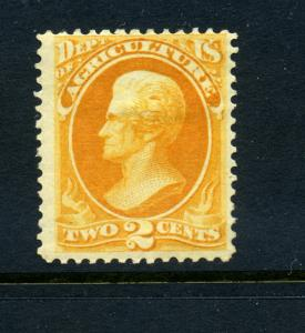 Scott #O2   Agriculture   Official  Mint Stamp (Stock #O2-9)