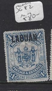 LABUAN (P1709B)  $1.00  SG 82 MOG