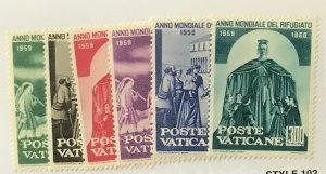 Vatican City #275-280 MNH CV$3.20 [85430]