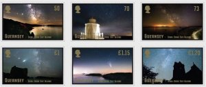 Guernsey 2021 MNH Stamps Space Astronomy Milky Way Planets