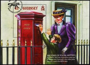 Guernsey. 2016 Miniature Sheet.Fine Used