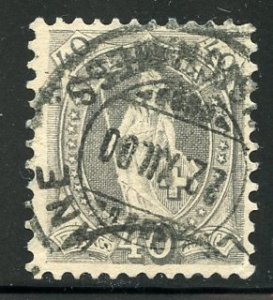 Switzerland # 84a, Used. CV $ 6.25