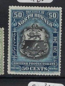 North Borneo SG 179 MOG (4dos)