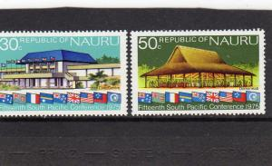 Nauru 1975 15th South Pacific  Conference MNH