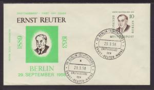 Germany Berlin 9N150 Reuter U/A FDC