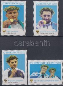 Uzbekistan stamp Summer olympics, Uzbek medalists in Athens set 2006 WS180613