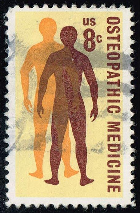 US #1469 Osteopathic Medicine; Used (0.25)