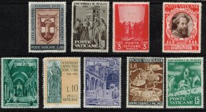 ITALY VATICAN STAMP  MINT STAMPS COLLECTION LOT #3