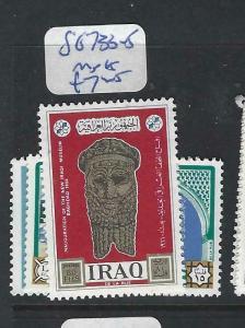 IRAQ   (P2803B)  SG 733-5   MNH