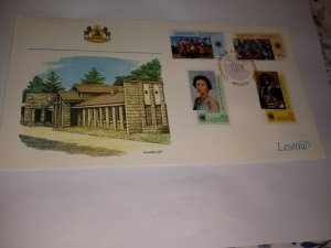 Lesotho 1983 Commonwealth Day First Day Cover