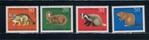 Berlin  9NB53-56 MNH Set Animals (B0251)