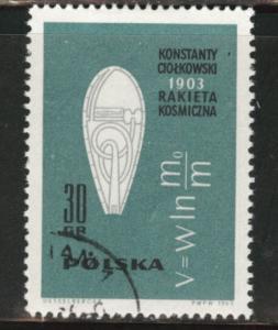 Poland Scott 1178 Used CTO stamp