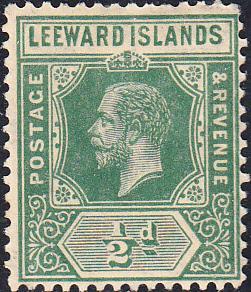 Leeward Islands #62  MH