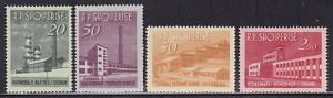 Albania 697-700 Never Hinged ! scv $ 18 ! see pic !
