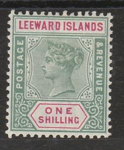 LEEWARD ISLANDS 1890 QV TABLET 1/-
