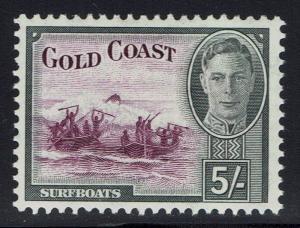 Gold Coast SG# 145, Mint Hinged -  Lot 010216