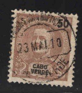 Cabo Verde Cape Verde Scott 45 Used