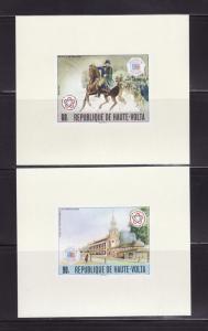 Burkina Faso 403-404 Sheet Set MNH American Bicentennial (B)