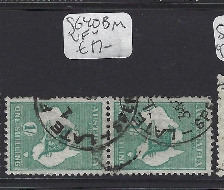 AUSTRALIA  (P2707B)   KANGAROO  1/-   SG 40B  PR     VFU