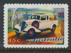 Australia SG 1671  Used - Self Adhesive  -Cars