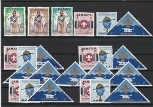 Jamaica Mint Never Hinged Stamps ref 22056