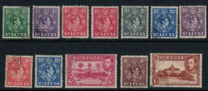 St. Lucia #110-21 CV $5.70
